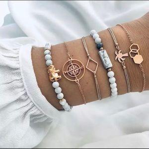 GUIA ♡ 6 Bracelets GIFT SET